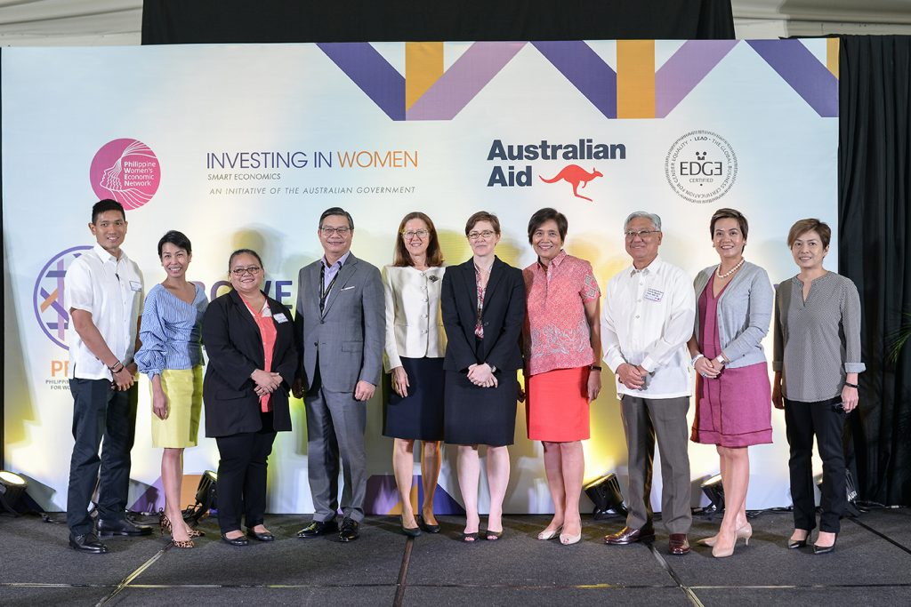 With the awarding of five new EDGE Certifications on 7 November 2018, all founding members of the Philippine Business Coalition for Women Empowerment are now recognised by the leading global assessment methodology and business certification standard for gender equality.