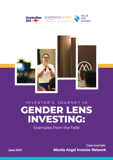 Investor's journey in Gender Lens Investing: Examples from the field