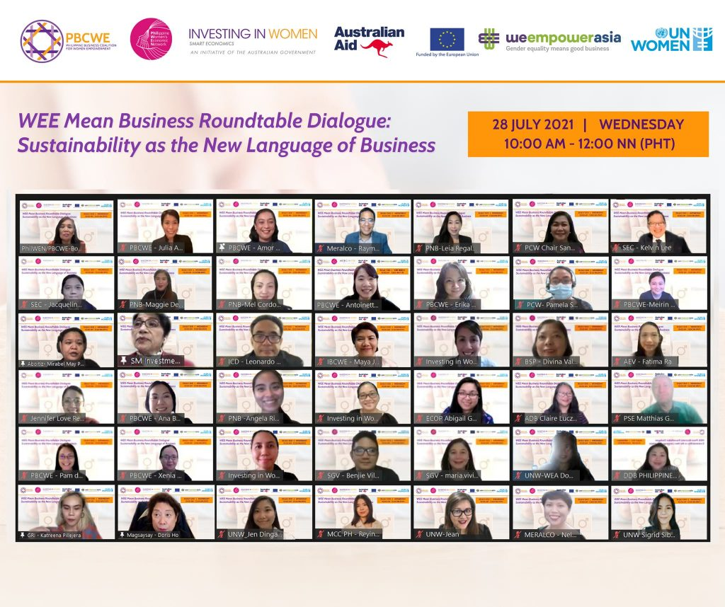 WEE (Women's Economic Empowerment) Mean Business Roundtable Dialogue
